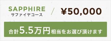 サファイヤコース50,000円